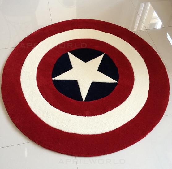 Yeni Kapitan Amerika Qalxan xalçasını özelleştirin İngiltərə - Ev tekstil - Fotoqrafiya 3