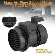 Car Vehicle Mass Air Flow Sensor Meter MAF for Vauxhall Renault Trafic 5WK9620 цена