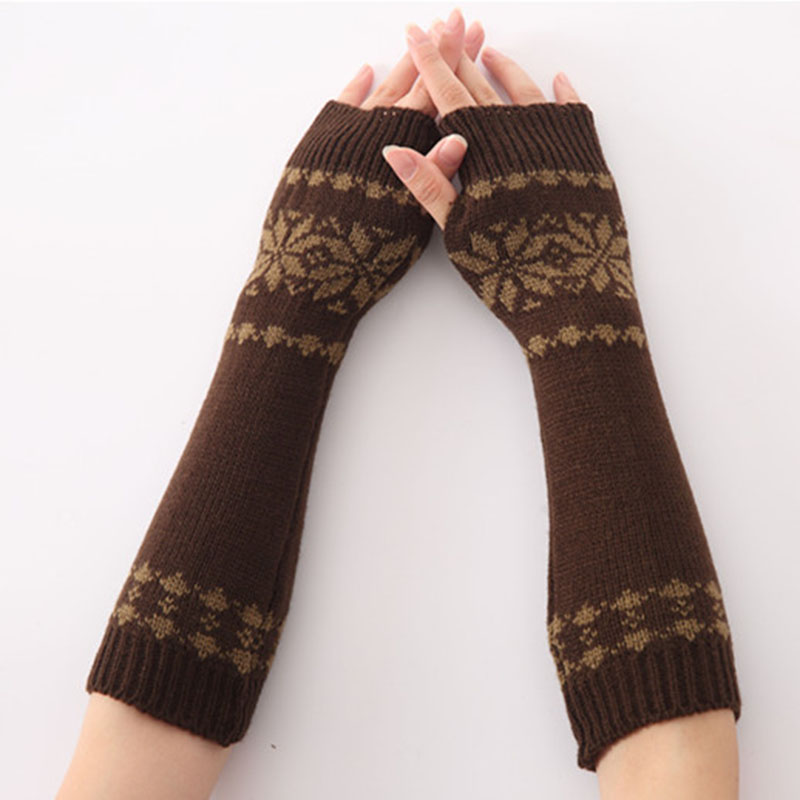 Aliexpress.com: Comprar Otoño Invierno ganchillo de punto guantes ...