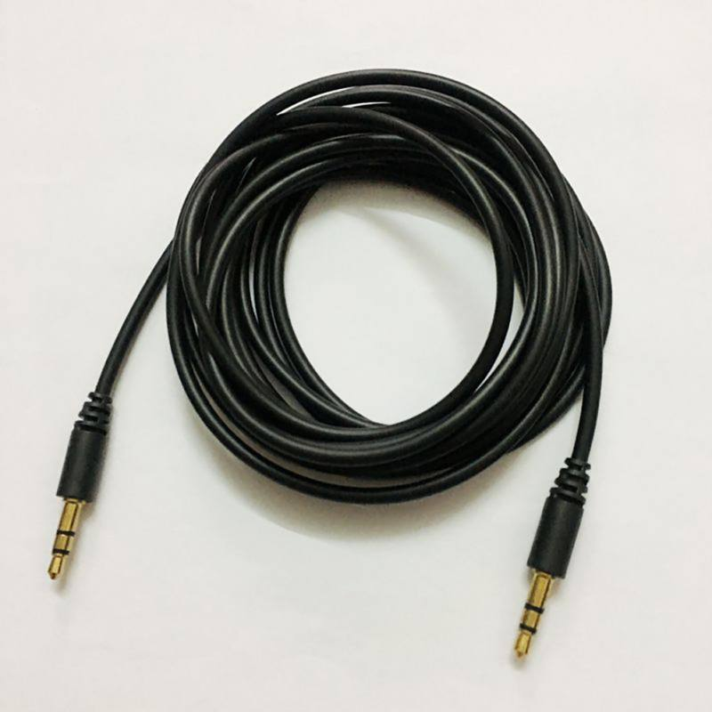 1m 3.5mm Jack Cable Male to 3.5mm jack Male AUX Audio Stereo Headphone Cable 3.5 mm Auxiliary Cord for Xiaomi Phones Earphone стоимость