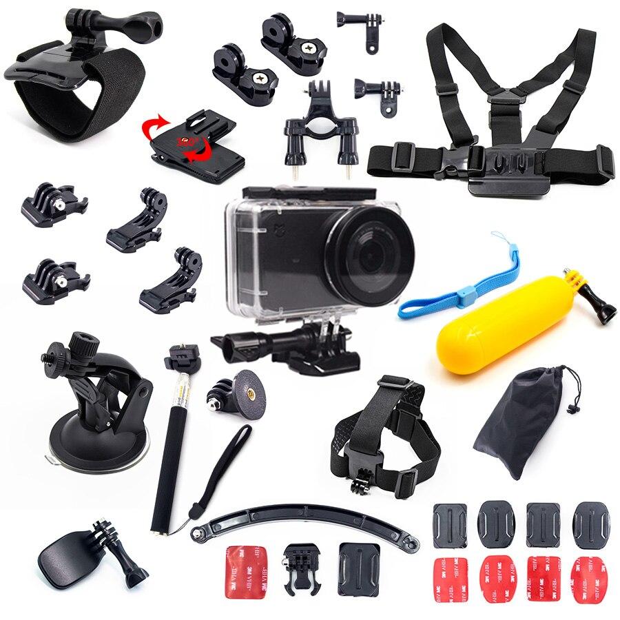Boîtier étanche pour Mijia kit d'accessoires boîtier sous-marin floattrépied pour Xiaomi Mijia petit Kit de caméra Sport d'action mini