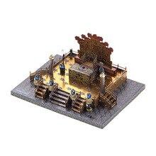 2018 new Microworld 3D Nano Puzzle ZhengDa GuangMing Palace Metal font b Model b font DIY