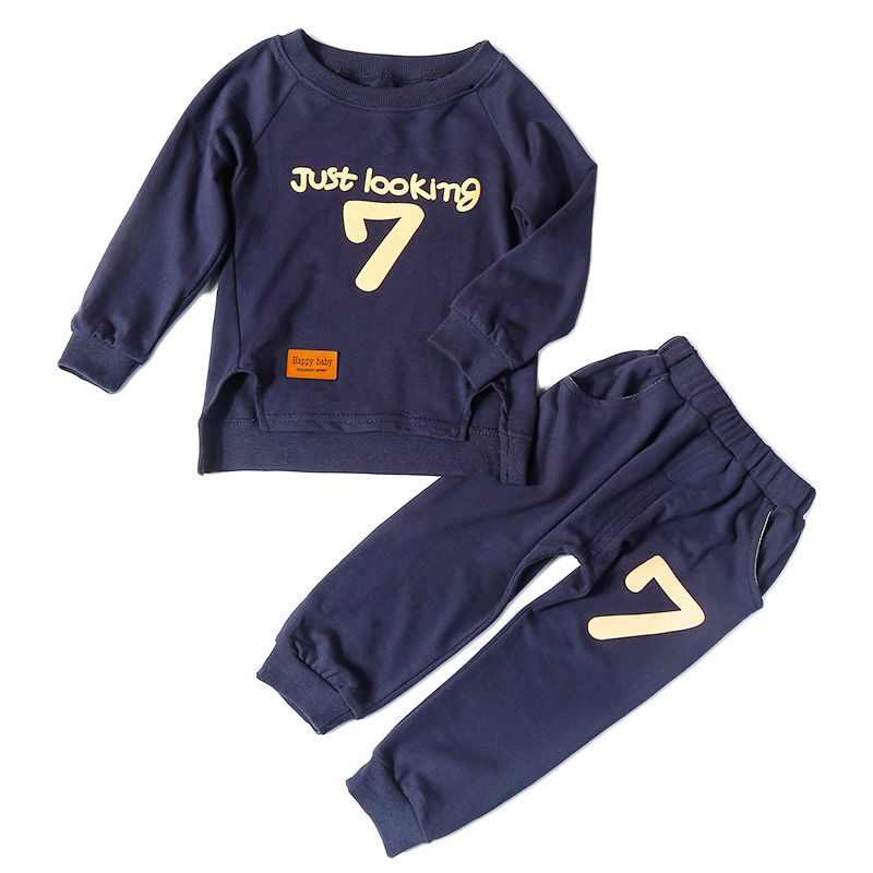 Children Clothing Sets Boys&Girls Cotton Sets Long Sleeve Sweater+Causal Pants Clothes Tracksuit Sports Suit For Kids Boys&Girls girls boys clothing set kids sports suit children tracksuit girls waistcoats long shirt pants 3pcs sweatshirt casual clothes