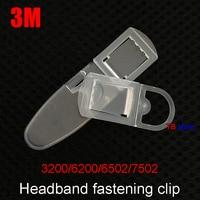 3M 3200/6200/6502/7502 Máscara snaps máscara de Gás/máscara de Poeira máscaras de Cabeça Fivela fixa Universal botão elástico