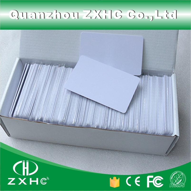 (100pcs/lot) FM1108 (Compatible with MF1 S50) Smart Accsss Control Cards RFID 13.56 MHz Tags PVC Material winfeng 2000pcs lot cmyk color pvc snap off keychain combo cards plastic die cut combo cards with barcode