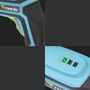 Image 5 - Youpin Tonfon Taladro Inalámbrico eléctrico inalámbrico pistola de impacto branquias destornillador de potencia con Bits 1500mAh batería recargable