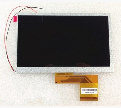 7INCH LCD Display Panel LCD Display Sreen for 7inch Allwinner A13 A10 Q8 Q88 MZ82 GB880 Tablet PC 165*104mm lq080v3de01 8 0 inch lcd panel