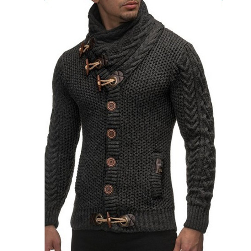 Aliexpress.com : Buy Men Sweater Coat Autumn Winter Knitted