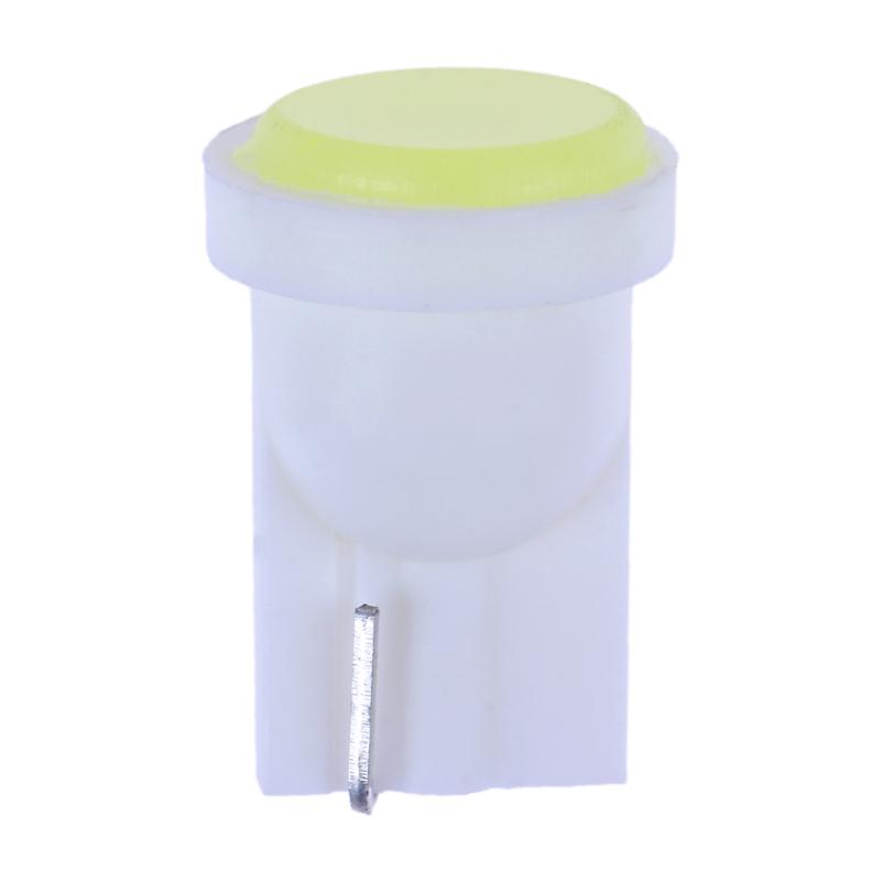 10pcs/pcak White <font><b>LED</b></font> <font><b>T10</b></font> COB W5W Car Interior Wedge Door Side Bulb Lamps Instrument Side Bulb Lamp Car White Source 12V image