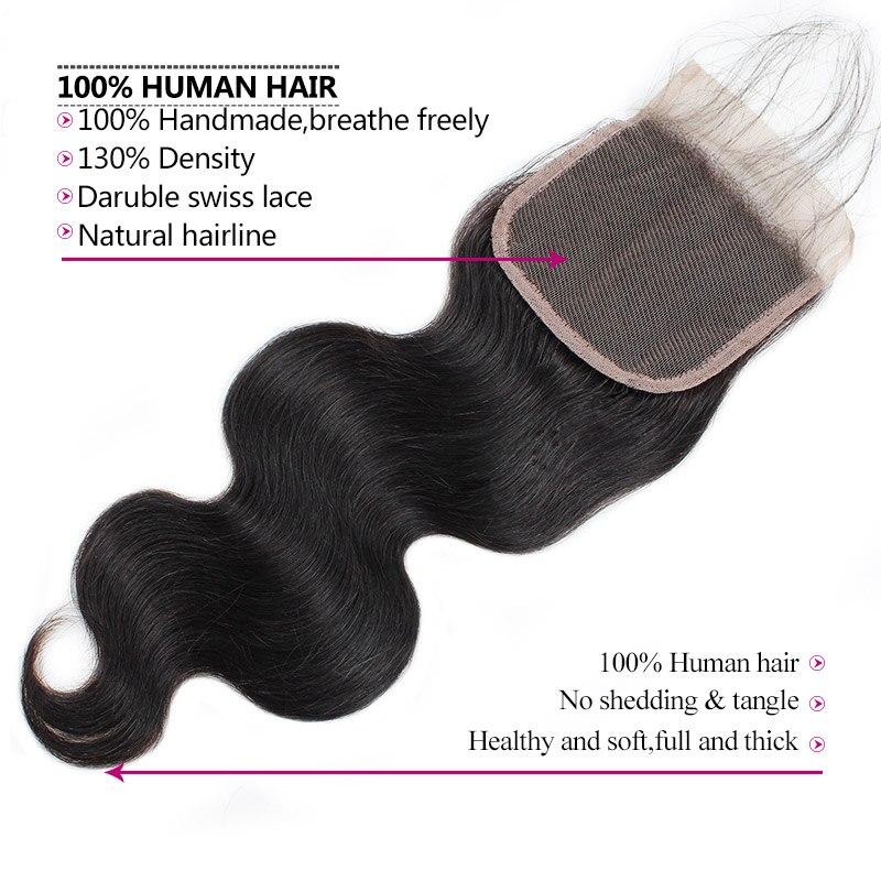 Meetu vlasy Malajské svazky tělové vlny s uzávěrem 3 svazky s - Krása a zdraví - Fotografie 5