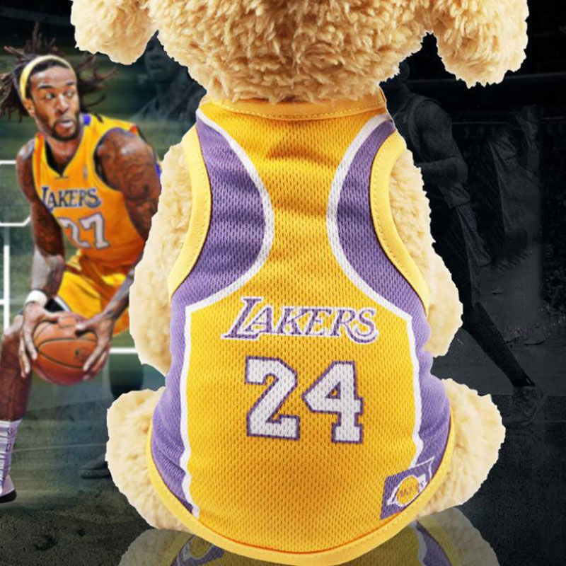 NBA Jersey Basketball Cheap Dog Clothes For Small Dogs Summer Chihuahua Tshirt Puppy Vest Yorkshire Terrier Clothes petstyle dog image