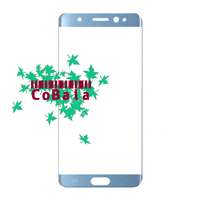 LOVAIN 10Pcs Genuine Original For Samsung Galaxy Note FE N935 N935K Front Glass 5 7 Touch