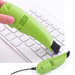 1 шт. Mini USB вакуумные компьютеры Клавиатура ноутбука пылесос Кисточки