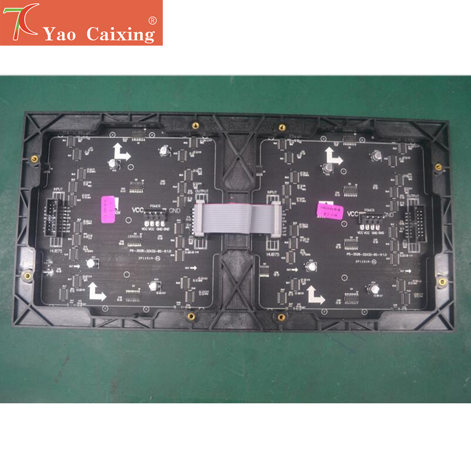 Yao Caixing P5 Indoor High Refersh Led Matrix 64x32 Pixels Panels SMD3528 Led Display Screen Module