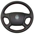 Черный Искусственная Кожа Автомобилей Руль Обложка для Старый Skoda Octavia Skoda Fabia