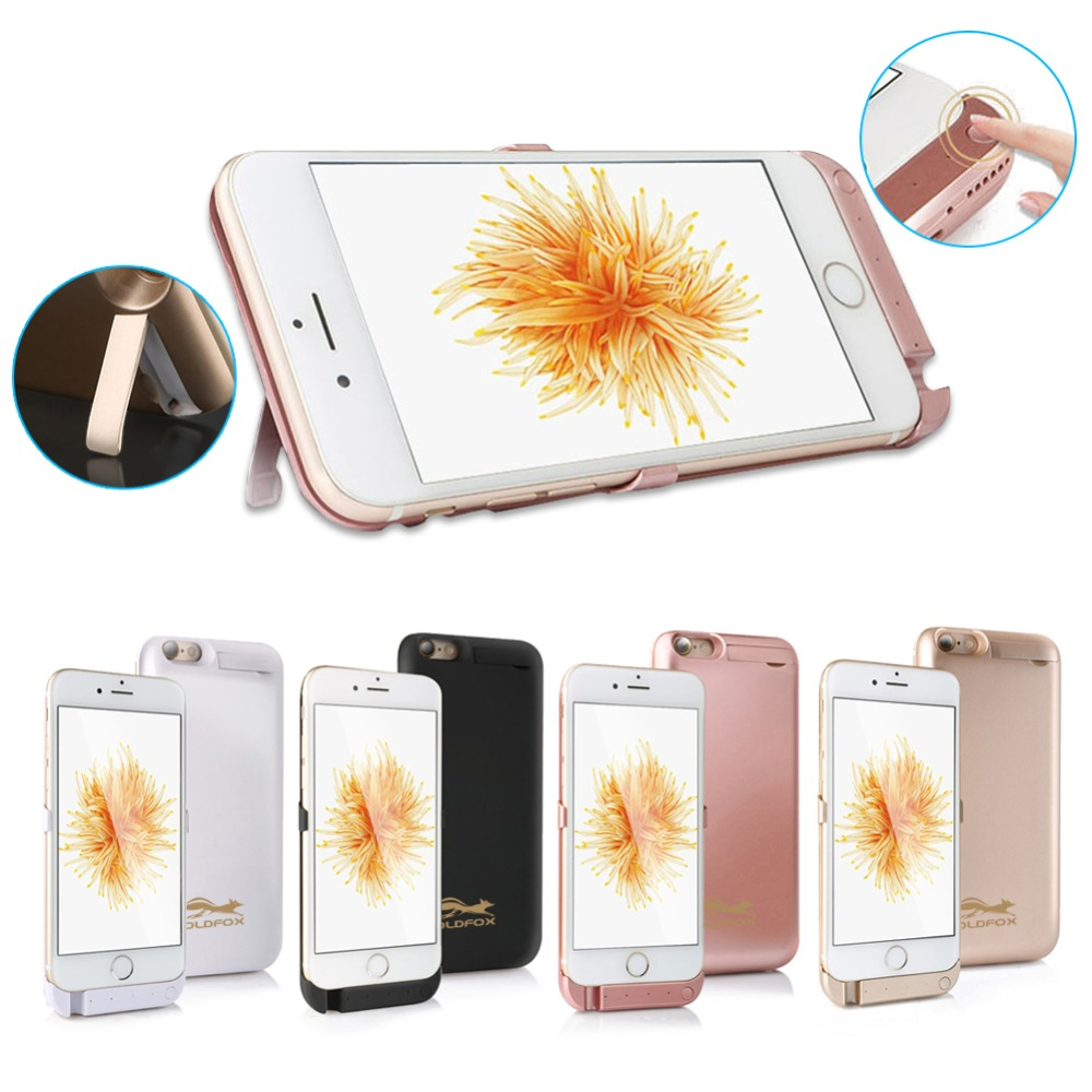 5000/8000mAh Battery Case For iPhone 6 s 6s Power Bank Charging Case For iPhone 6 6s Plus Battery Charger Case Cover