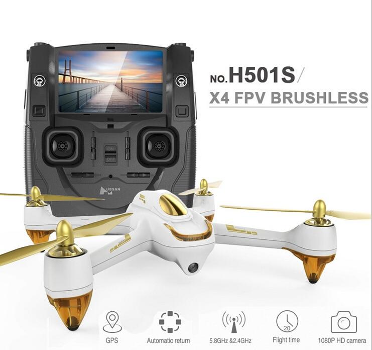 Hubsan H501S X4 5,8 Г FPV системы Радиоуправляемый Дрон с 1080 P HD камера Quadcopter gps Follow Me CF режим автоматического возврата F17999/0