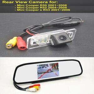 Автомобильная камера заднего вида для Mini Cooper R50 R52 Cooper s R53 2001 ~ 2008 Беспроводная реверсивная парковочная видеокамера заднего вида в автомобиле...