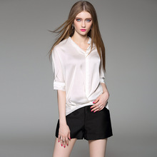 High Quality Large Size T-shirt Clothes Women Summer Autumn Fashion Casual Office White Black Shirt Style Tees Tops XXL XL L M S