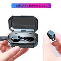 3000mAh Large Battery Bluetooth 5.0 Earphone Touch Control TWS True Wireless Earbuds Sports Waterproof auriculares Phone Headset