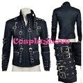New Custom Made de alta qualidade américa jaqueta de Michael Jackson Coay Cosplay para o dia das bruxas