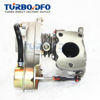 Dengeli Yeni türbini komple turbo şarj cihazı 53039880009 Peugeot 206 307 406 Ortak 2.0 HDI 66 KW DW10TD/RHY 0375C8