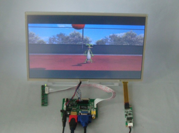 HDMI+VGA+2AV Driver board+14inch 1366*768 lcd panel with touch screen LTN140AT02 LTN140AT07 LP140WH1 BT140XW02 HT140WXB
