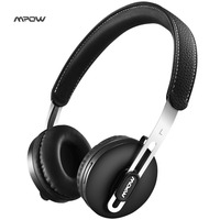 New Mpow Bluetooth V4 1 Car Headphones Wireless Over The Head Noise Canceling Handsfree Call Headphones