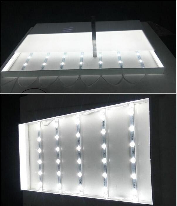 60pcs/lot,UL Listed CE ROHS approved,24v 7.2w 720LM 6leds rigid led light bar 24v dc