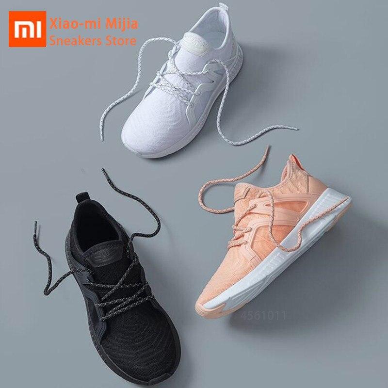 Original Xiaomi Mijia 90-piece Sport Sneakers Breathable Mesh Athletic Light Women's Female Comfortable Non-slip Running Shoes