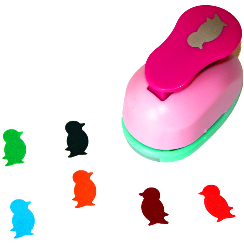 1 Inch Penguin Design Eva Foam Punch Paper Punches Scrapbooking Cutter Hole Punch Craft Punching For DIY Artwork