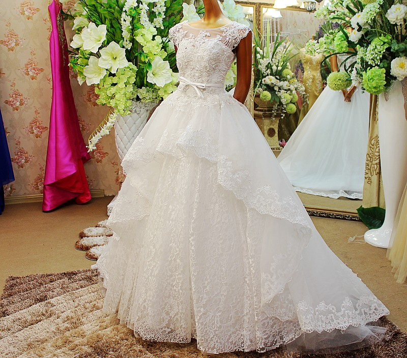 Wedding Ball Gowns With Straps: Ball Gowns Ultimate Luxury Crystal Wedding Dress Straps