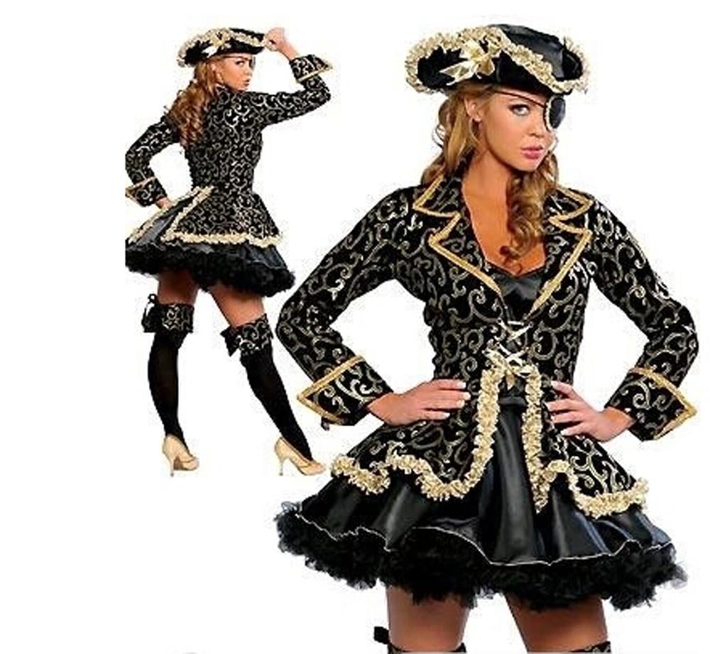 2016 new women plus size cosplay fashion black skirt gold sexy