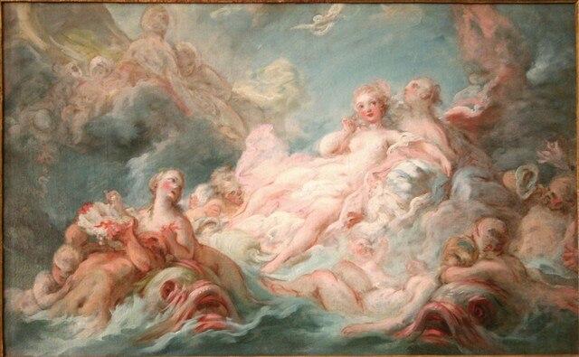 Resultado de imagen de El nacimiento de Venus,china