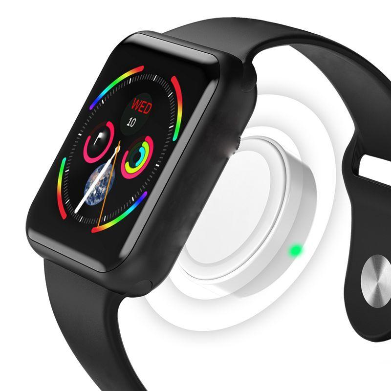 Montre intelligente Bluetooth série 4 42mm coque Smartwatch pour Apple Iphone 6 7 8 X et pour Samsung Sony Xiaomi téléphone Android IWO 7