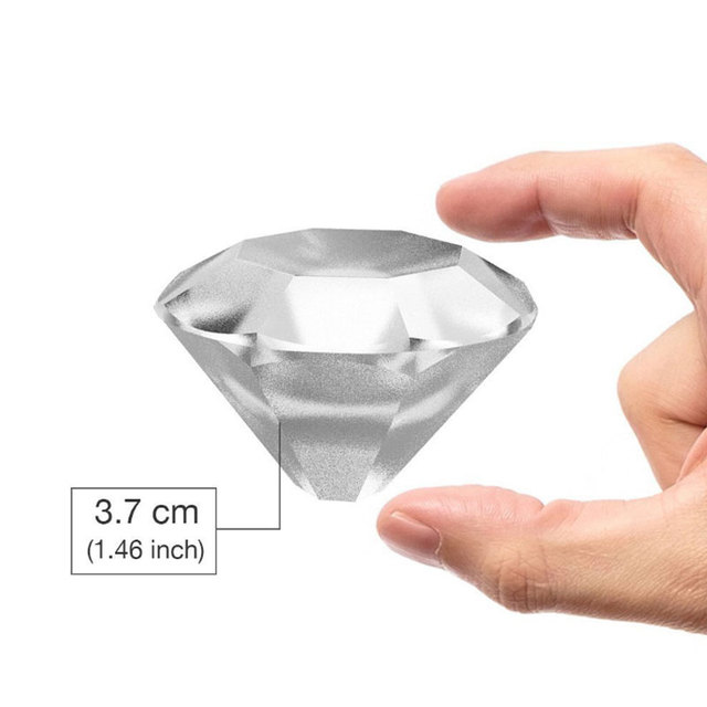 MOM'S HAND 4 Cavity Diamond Shape 3D Ice Cube Mold Maker Bar Party Silicone Trays Chocolate Mold Kitchen Tool