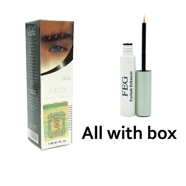 1dcf733d919 FEG eyelash enhancer / FEG eyebrow enhancer / 2 boxes in a pack / Help  eyelash growing, eyebrow growth liquid