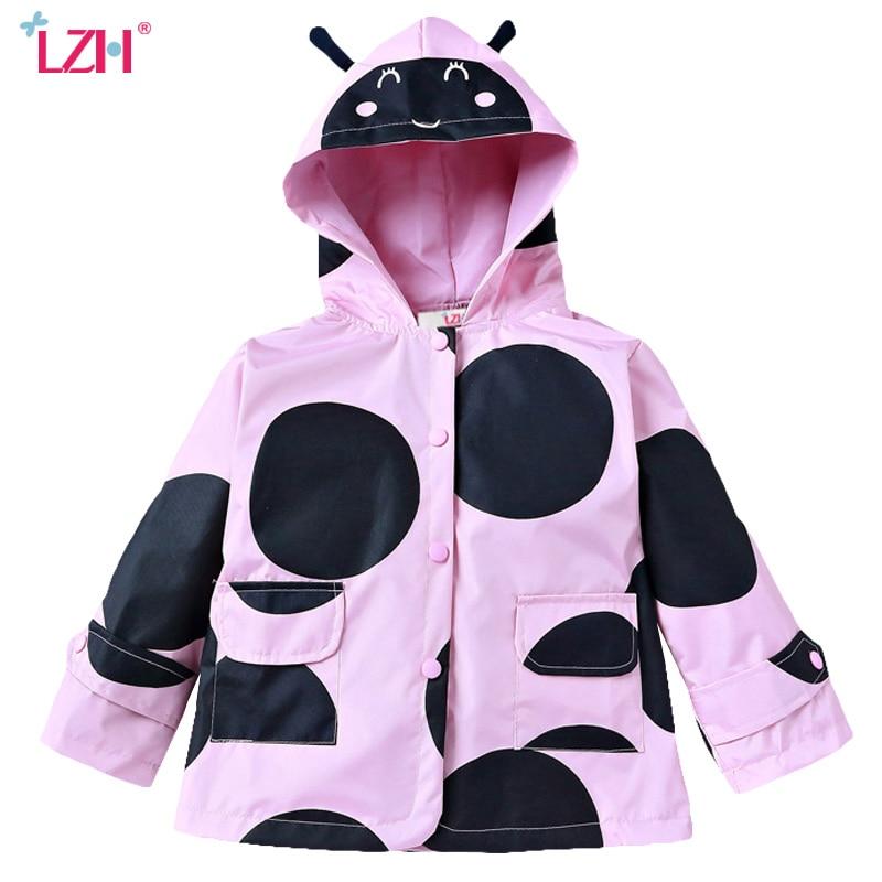 LZH สาวเสื้อกันฝนเสื้อ 2017 - เสื้อผ้าเด็ก