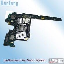 Raofeng для samsung Galaxy Note 1 N7000 материнская плата используется версия Европа и открыл i9220 плата хорошо работала материнскую плату