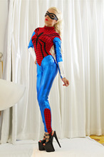 Sexy Superhero Costume role-playing Spider-woman Jumpsiuts Costume For Womens Lycra  Halloween Carnival cosplay costumes