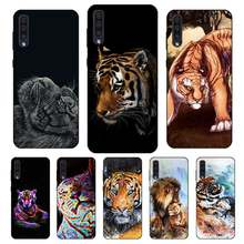 N440 Tiger Lion Animal Black Silicone Case For Samsung Galaxy A2 Core A6 A7 A8 A9 A10 A30 A40 A50 A60 A70 A8S A9S A20E Plus(China)