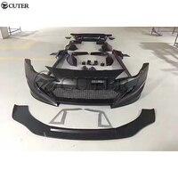 86 BRZ FRP front rear bumper Side skirts rear spolier for Toyota GT 86 Subaru BRZ Wide Car Rocket Bunny body kit 13 17