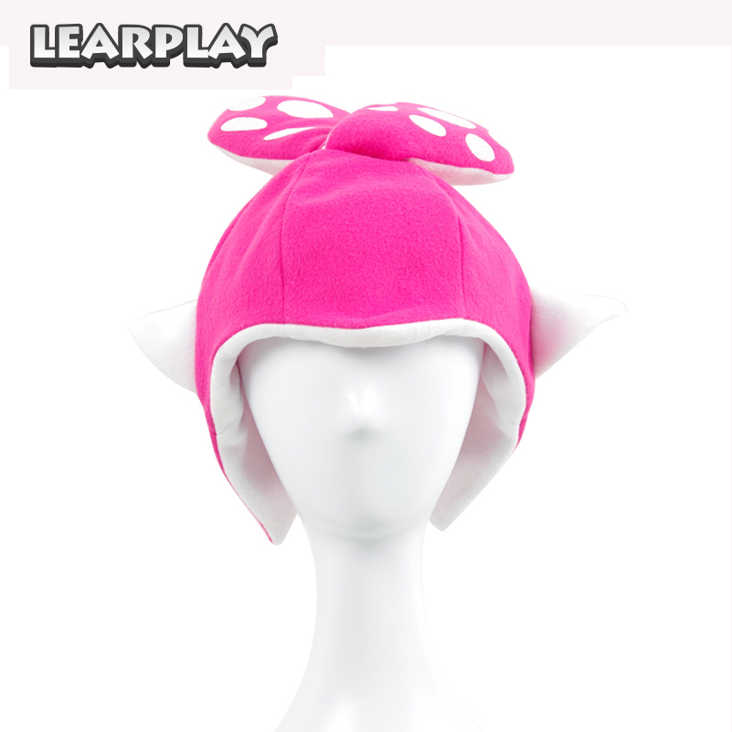 237e41f8 Splatoon 2 Splatfest Inkling Squid Cosplay Hairpin Hat Mask Red Party  Balaclava Cap Halloween Costumes Gift