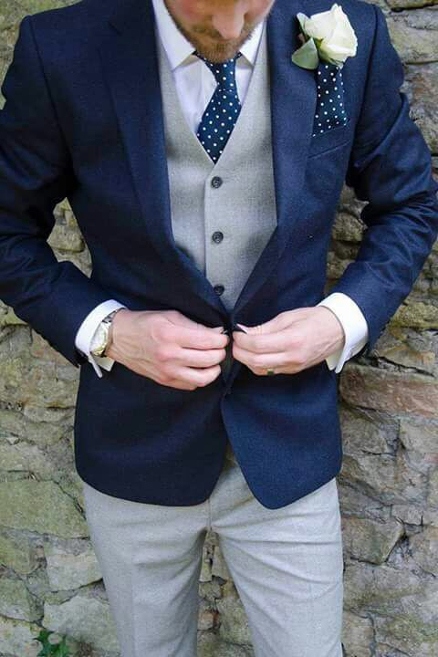 (Jas + Broek + Vest + Bowtie) 2018 Nieuwe Collectie Custom Made Men suits-in Pakken van Mannenkleding op  Groep 2
