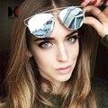 Fashion Women Polarized Cat Eye Sunglasses Women Summer Style Brand Designer Over Size Men Flat Lens Sun Glasses
