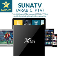 Android 6 0 Smart TV Set Top Box X96 2GB 16GB Amlogic S905X Quad Core With