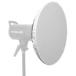 """Image 5 - Godox 55 سنتيمتر 22 """"استوديو الفضة الجمال طبق بوينز جبل + شبكة العسل + الناشر جورب ل DE300 SK300II SK400II QT600 DP600"""