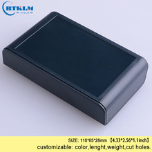 Корпус для электронного ABS пластиковая коробка для распределиления электричества diy печатная плата настольный корпус изготовленный на заказ проект чехол 110*65*28 мм