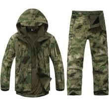 Esdy Тактический комплект из мягкой куртки и брюк охотничьи