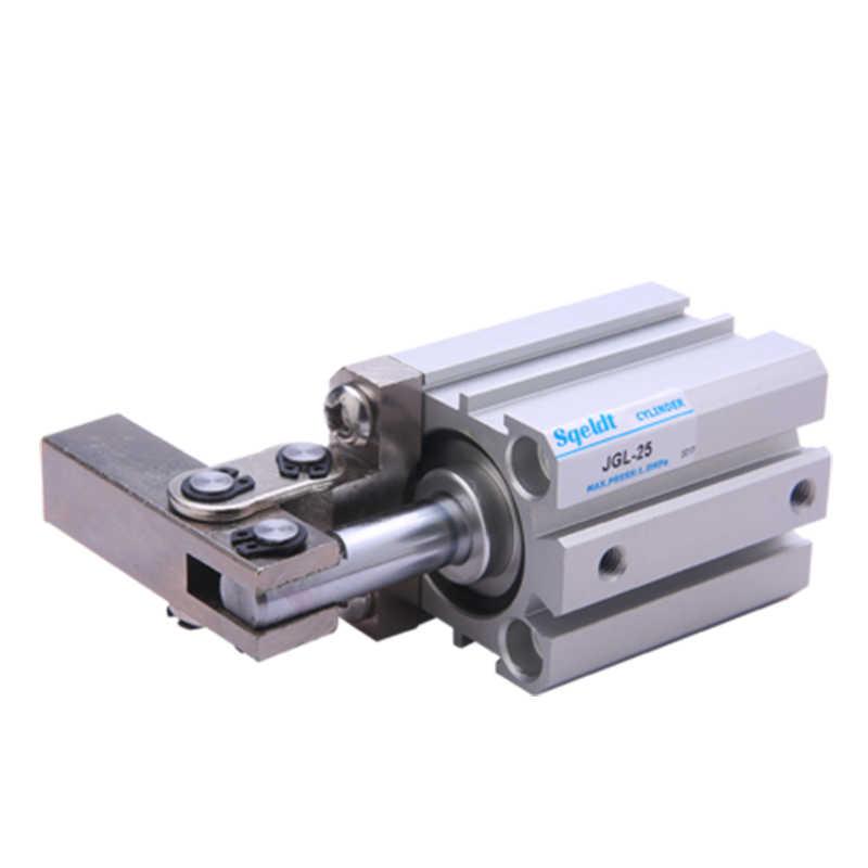 Немагнитный цилиндр серии JGL, магнитный цилиндр, встроенный Пневматический зажим, вращающийся цилиндр, фотоход 50 63